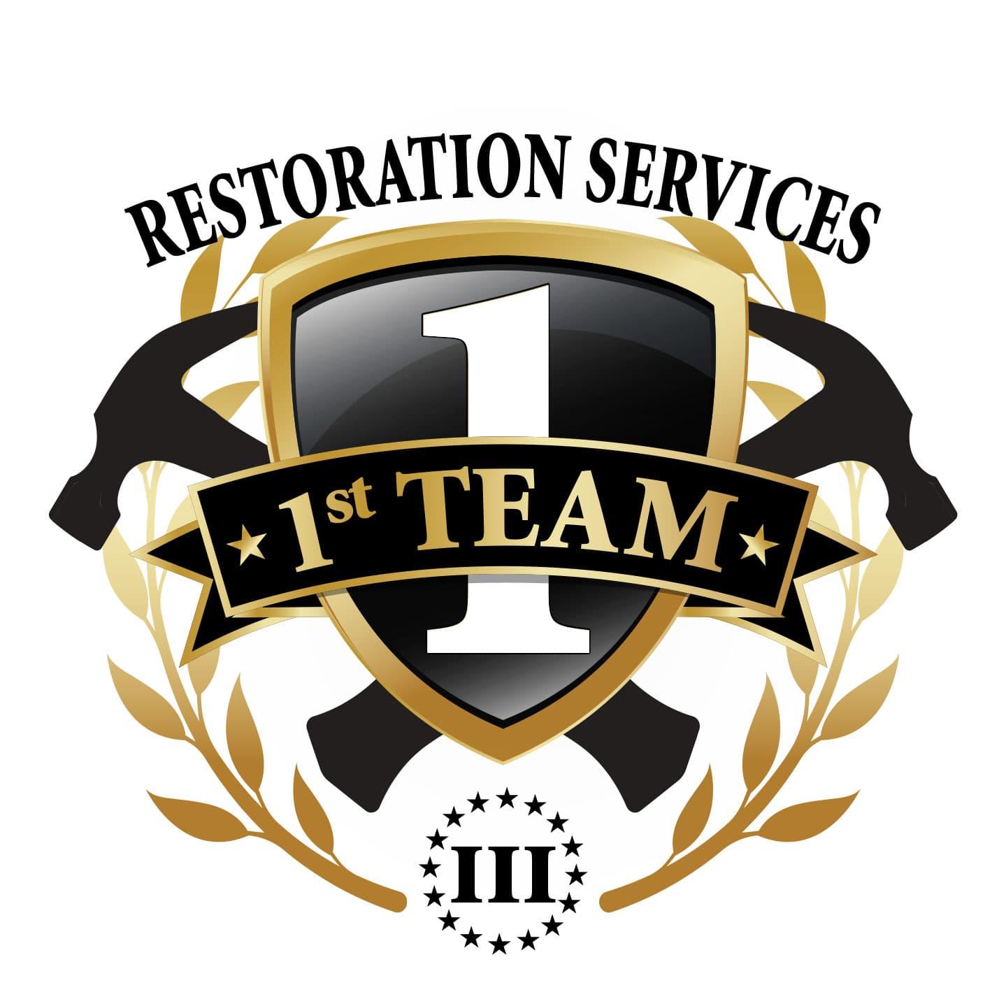 1st Team Restoration Logo Design