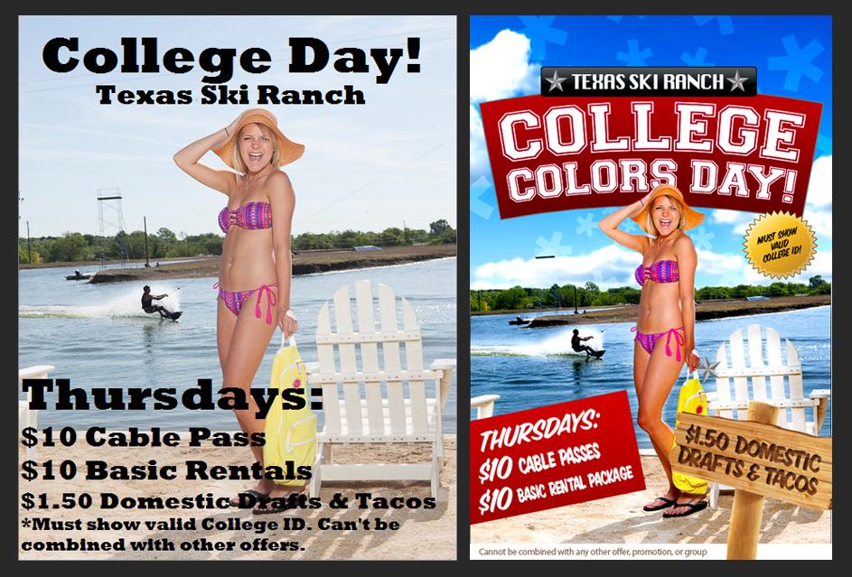 Color Day Texas Ski Ranch
