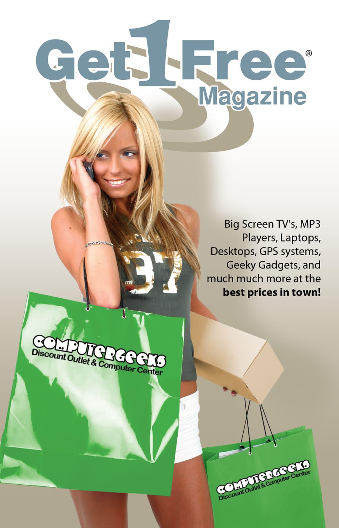 Get 1 Free Magazine cover