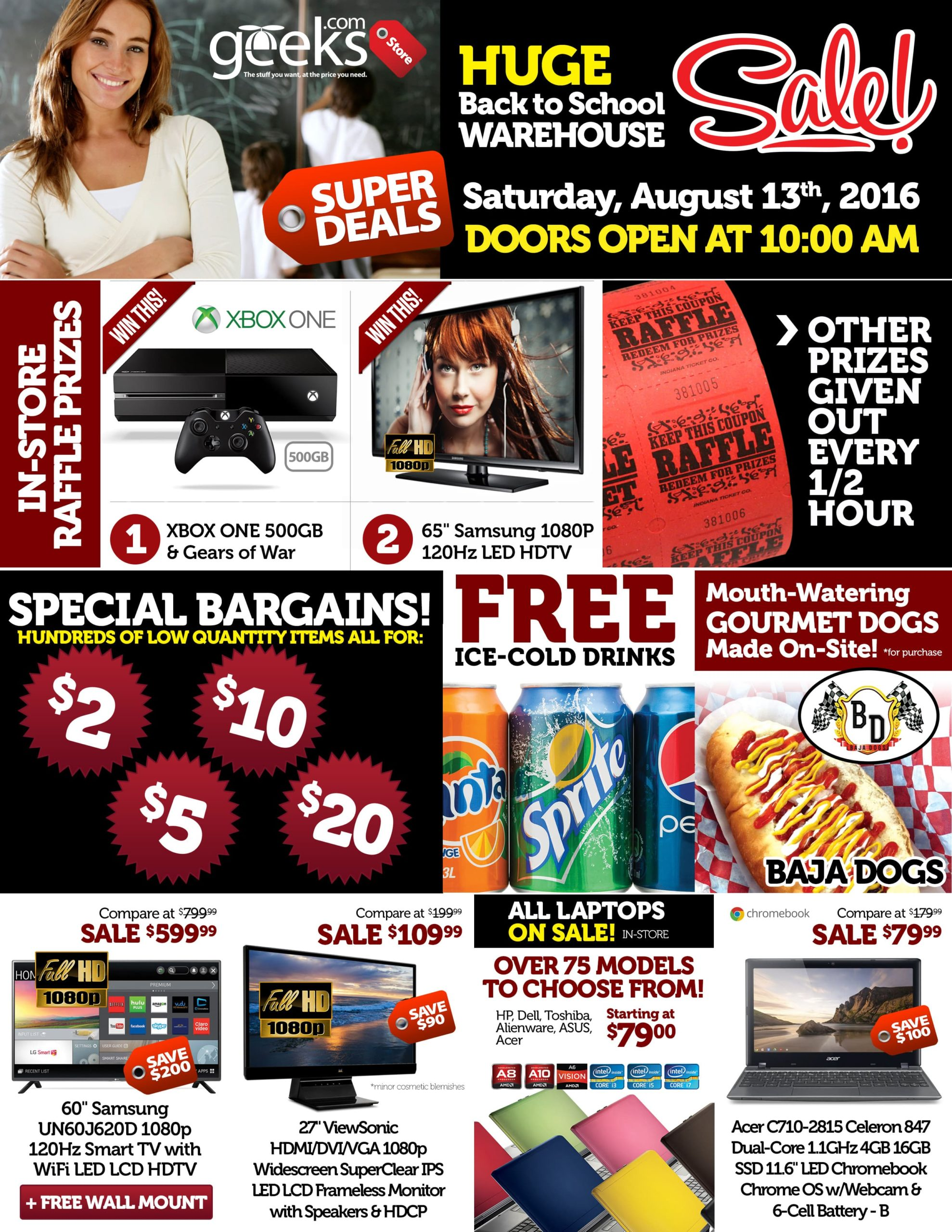 Geeks Store Paper Ads