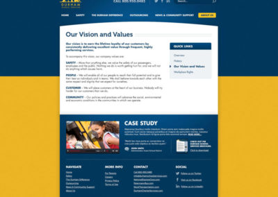 About Us - Our Vision and Values