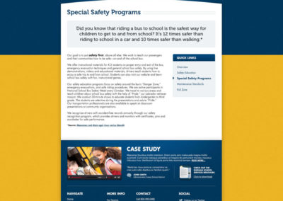 Safety - Special Safety Programs